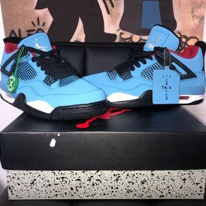 Nike Air Jordan Retro 4s Cactus Jack Size 12 ✅‼️